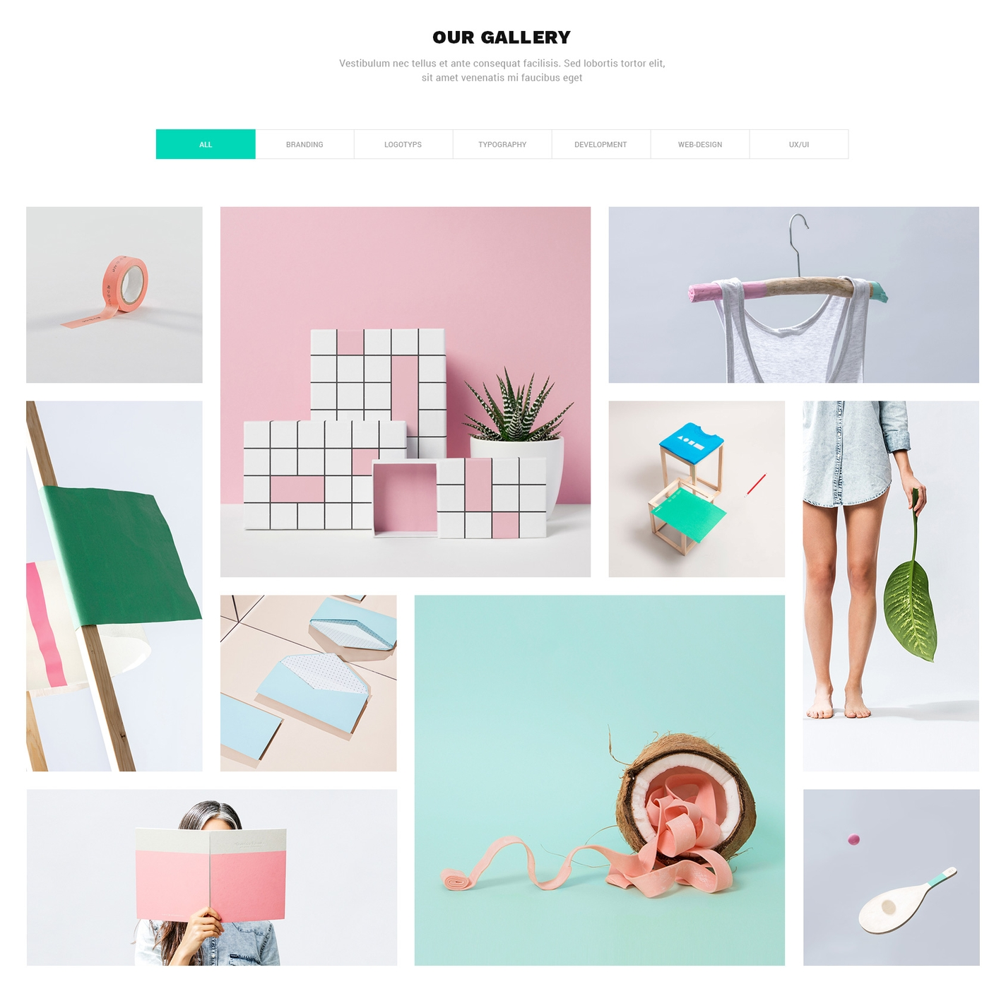 HTML Bootstrap OnePage Theme
