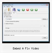 Slimbox Videobox embed a flv video