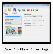 Embed FLV on Webpage embed flv player in web page