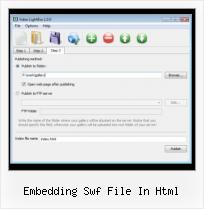 Add Youtube Video to Ebay embedding swf file in html