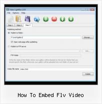 SWFobject Getplayerversion how to embed flv video