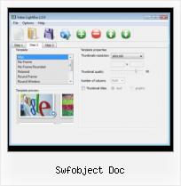 Using Lightbox For Video swfobject doc