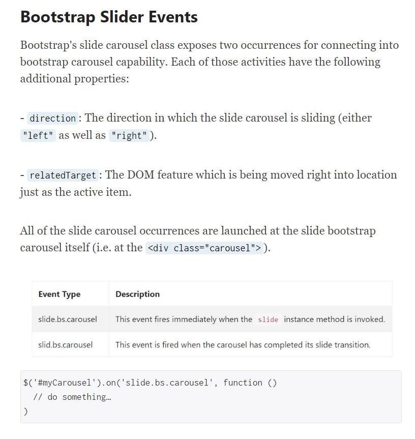 Bootstrap Thumbnail Slider